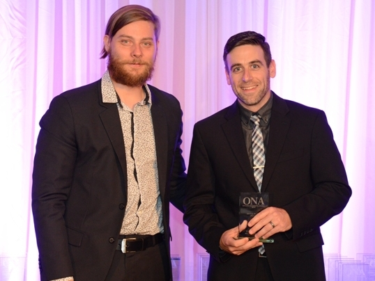 SOCIAL MEDIA WINNER: Dan Dakin, Welland Tribune - sponsored by Ontario College of Trades