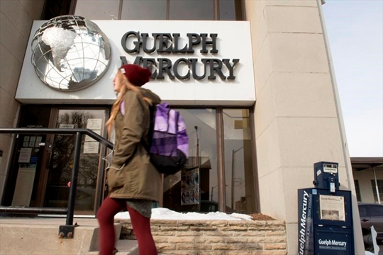 Guelph Mercury to cease publishing print editions