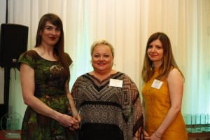 SOCIAL MEDIA WINNER: Amy Kenny, The Hamilton Spectator and Ann-Marie Colacino, Senior Communications Officer and Tracey Shepherd, Bilingual Communications Officer, Colleges Ontario