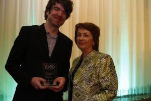 K.A. (SANDY) BAIRD AWARD Humour Writing WINNER: Ben McLean, Kingston Whig-Standard with Melinda Marks, Waterloo Region Record