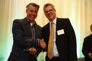 Feature Photography (under 25,000 circulation) WINNER: Mark Wanzel, Barrie Examiner with Rob Ferguson, Toronto Star