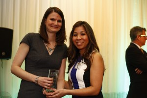 GENERAL NEWS FEATURE WINNER: May Warren, Guelph Mercury and Dayana Fraser, Council of Ontario Universities