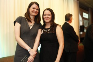 NOVICE REPORTING (under 25,000 circulation) WINNER: May Warren, Guelph Mercury with sponsor Amy Dickson, Colleges Ontario
